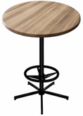 "36"" Round Indoor/Outdoor Table - 42""H, 42137"