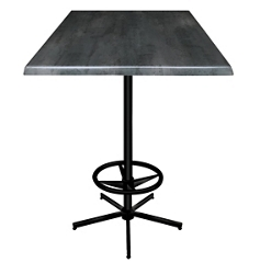 """30"""" Square Indoor/Outdoor Table - 42""""H, 42136"""