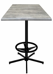 """36"""" Square Indoor/Outdoor Table - 42""""H, 42138"""