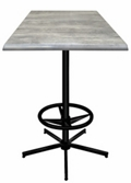 "36"" Square Indoor/Outdoor Table - 42""H, 42138"
