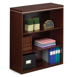 "Reveal 42""H Three Shelf Bookcase, 32107"