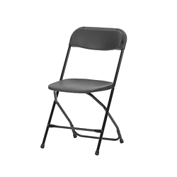 Plastic Folding Chair with Metal Frame, 51028