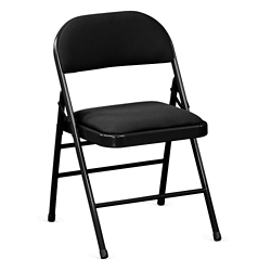 Treble Fabric Folding Chair, 51041