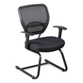 Linear Vertical Mesh Back Guest Chair, 50116