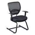 Linear Vertical Mesh Back Guest Chair, 50116