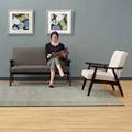 Loveseat & Chair Set, 76580