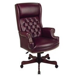 Traditional Executive Vinyl Chair, 55555