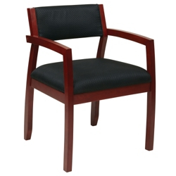 Wood Frame Upholstered Guest Chair, 55604