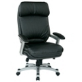 Ergonomic Faux Leather Executive Chair, 57071