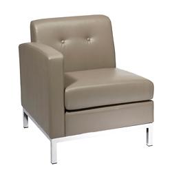 Left Single Arm Faux Leather Chair, 75352