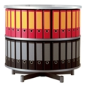 Binder Carousel with 2 Tiers, 31442