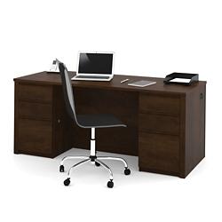 """Double Pedestal Executive Desk - 72"""" x 30"""", 15118"""