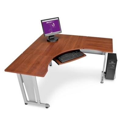 Corner desk office Cool Lshaped Workstation 60 National Business Furniture Corner Desk Compact Workstations National Business Furniture