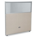 "31""W x 47""H Vinyl Partition with Clear Top, 22478"