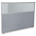 "60""W x 47""H Vinyl Partition with Clear Top, 21217"