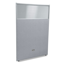"37""W x 63""H Vinyl Partition with Clear Top, 21219"