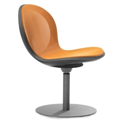 Steel Mesh Guest Chair with Swivel Base, 50952