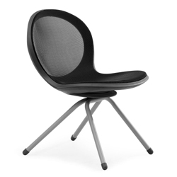 Steel Mesh Guest Chair with Four Leg Base, 50955