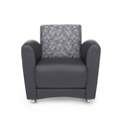 Reception Chair without Tablet Arm, 75023