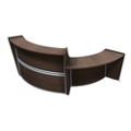 "Marque Two Piece ADA Reception Station - 116""W x 49""D, 75660"