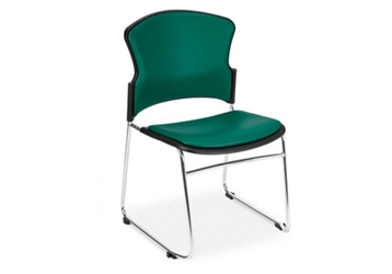 Antimicrobial Vinyl Stackable Guest Chair, 51679