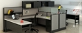 "Double U-Desk Workstation with Storage - 196""W x 76""D, 14598"