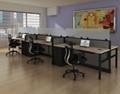 "Six Benched Workstations - 220""W x 50""D , 14602"