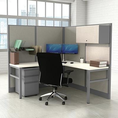 Office Cubicle Desks Office Furniture Corben Corner Desk With Legs 14980 Worthington Direct Office Cubicles