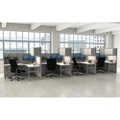 Corben Four Desk Pack with P legs, 14984
