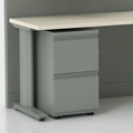 Corben Mobile Two Drawer File Pedestal with Full Pulls, 34569