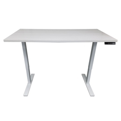 "Adjustable Height Table Desk 72""W x 24""D, 46196"