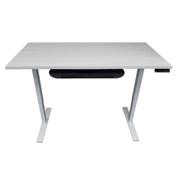 "Adjustable Height Table Desk 72""W x 30""D, 46199"