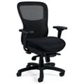 Mesh Back Mesh Fabric Seat Ergonomic Executive Chair, 57213