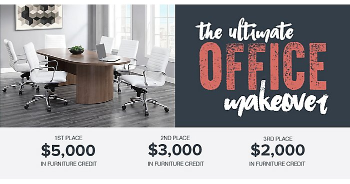 Help Us Choose the Winners of Our Ultimate Office Makeover!