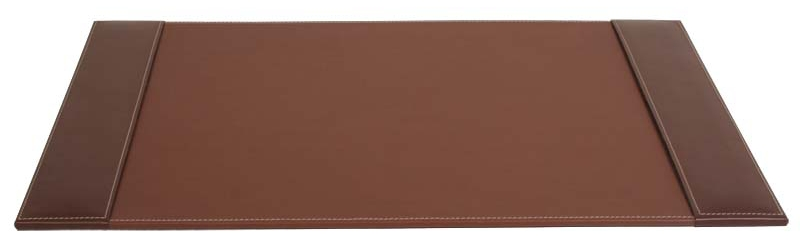 "Leather Side-Rail Desk Pad 25.5""W x 17.25""D , 92543"