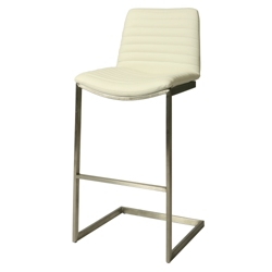Bar Height Vinyl Stationary Stool, 56592