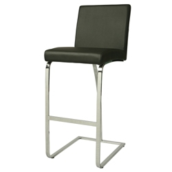 Bar Height Vinyl Stationary Stool, 56596