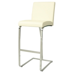 Counter Height Vinyl Stationary Stool, 56597
