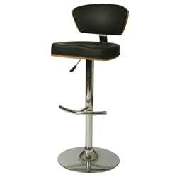 Veneer Back Vinyl Hydraulic Stool, 56598