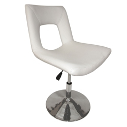 Modern Faux Leather Side Chair, 75634