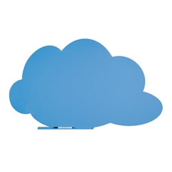 "59""W x 39.5""H Dry Erase Cloud Board, 81050"