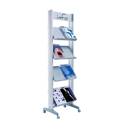 "Medium Single Sided Literature Display - 20""W, 82501"