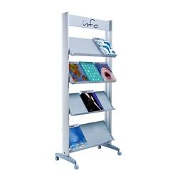"Large Single Sided Literature Display - 29""W, 82502"