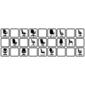 Chairs In A Box Decal, 82510