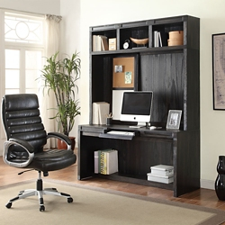 "Minimalist Desk with Hutch - 63""W, 14927"