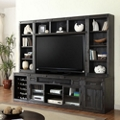 "Media Wall with Hutches- 105""W, 14929"