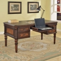 "Writing Desk with Inlaid Top - 62""W, 14837"