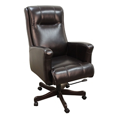 Desk Chair in Leather, 14938