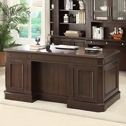 "Double Pedestal Desk - 66""W, 14948"