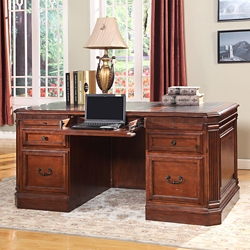 "Double Pedestal Desk - 66""W, 14952"